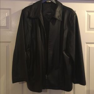 Outbrook womens leather jacket